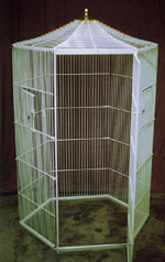 Expandable Habitats Stainless Steel Custom Caging